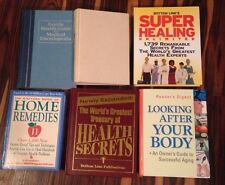 LOT 6 Home Remedies, Health Secrets, Medical Encyclopedia, Healing type Books