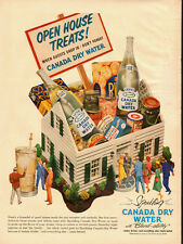 1951 vintage beverage ad, CANADA DRY WATER, with Bled-ability! - 072313