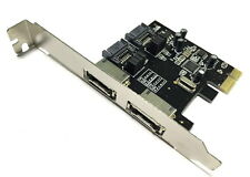 2Port eSATA III PCIe Controller Card For Apple Mac Pro 1,1-5,1 2006-2012