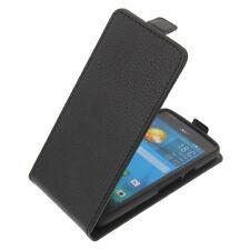 Tasche für Acer Liquid Z410 FlipStyle Handytasche Schutz Hülle Flip Case Schwarz