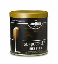 Mr. Beer St. Patrick's Irish Stout Home Brewing Beer Refill Kit SPDD NEW