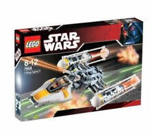 Lego 7658 - Star Wars Y-wing Fighter with minifigures - New - NIB - Retired Rare