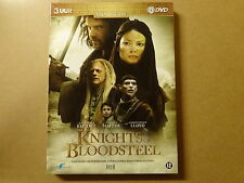 2-DISC DVD BOX / KNIGHTS OF BLOODSTEEL ( DAVID JAMES ELLIOT, NATASSIA MALTHE...)