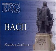 BACH, CANADIAN BRASS, USED CD, ORIGINAL CASE AND ARTWORK