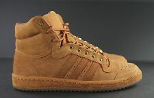 RARE NWT ADIDAS BURNT ORANGE TOP TEN HI S85278 TEXAS LONGHORNS Men's Size 11 ANB