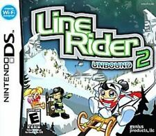 Line Rider 2 Unbound DS Game  Brand New - Fast Ship - In Stock