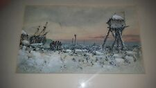 George James Knox (1810-1897) Watercolor oil Signed Listed artist!  Make offer!