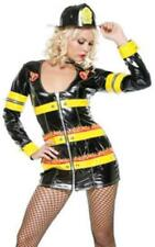 Igniter Fire Fighter Costume Dress & Hat  Plus Size. BY FORPLAY 1X/2X.