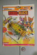 RARE Vintage Boley Transformers KO Robo-Bugs Butterfly NIP MISB MOC MIP Insect