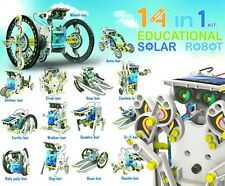 14 in 1 Educational Solar Robot Kit Toy Transformers Robot