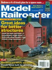 2014 Model Railroader Magazine: Great Ideas for Better Structures/Walthers Test