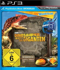 Dinosaurier Im Reich der Giganten - Wonderbook / Move - SONY PlayStation 3 / PS3