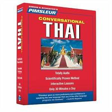 PIMSLEUR Learn to Speak THAI Language 8 CDs NEW!!