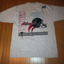 Vtg Atlanta Falcons True Fan T shirt Medium NFL 90s Deadstock dirty bird Ryan