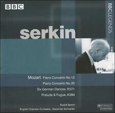 Mozart: Piano Concerto No. 12; Piano Concerto No. 20; etc., New Music