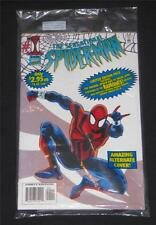 Sensational Spiderman #1- Sealed Bag with Ramones Cassette-RARE!!!  VF