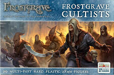 Northstar and Osprey Frostgrave Cultists Multi-part hard plastic 28 mm (20) New