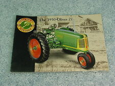 ERTL 1/16  OLIVER 77 PRECISION BOOK ONLY