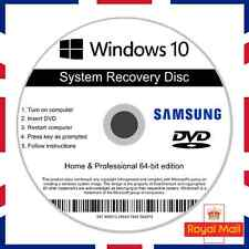 Samsung Windows 10 Home Professional Recovery Repair Install Boot Disc Software