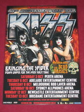 KISS - 2015 AUSTRALIAN TOUR - 40TH ANNIVERSARY - PROMO TOUR POSTER