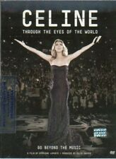 DVD CELINE DION THROUGH THE EYES OF THE WORLD NEW 2010