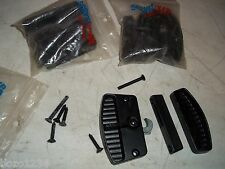 BNIP NOS SERVISTAR BLACK METAL SLIDING DOOR LATCH LOCK HANDLE PORCH PATIO HOOK