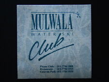 MULWALA WATER SKI CLUB 03 57441888 COASTER