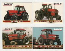 1995 CASE IH 5488, 7120 Magnum 2WD Tractor, 4 collector/trading cards, #C21-#C24