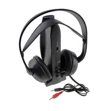 Wireless Headset Headphone With FM Radio For TV MP3 Receiver Computer Wholesale!