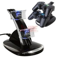 Charging Dock Station USB Hub Power Stand for PS3 Dual Shock Wireless Controller