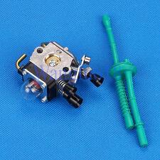 Carburetor Fuel line Fit STIHL FS38 FS45 FS46 FS55 KM55 HL45 String Trimmer