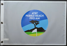 2017 AT&T Pebble Beach Pro-AM Screen Print Logo GOLF Pin FLAG