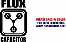Vinyl Decal Sticker - Flux Capacitor Car Truck Bumper Window Laptop JDM Fun 7""