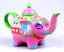 """JAMESON&TAILOR Design-Teekanne """"Indischer Elefant"""", Bone China, 1 l, sehr hübsch"""