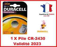 1 Pila CR-2430- DL-2430 DURACELL botón Litio 3V DLC 2021