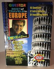 Rick Steves' Best of Travels in Europe - 6 Pack (DVD, 2002, 6-Disc Set)