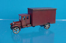 HO/HOn3 1/87 WISEMAN MODEL SERVICES OT5065 1926 WHITE MOVING VAN TRUCK KIT