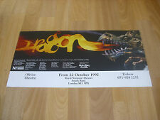 DRAGON  Fairy Tale Puppets by Spitting Image  1992  NATIONAL Theatre Poster
