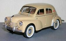 BP13 Renault 4CV Berline Sport R 1062 - 1958 1/43 Scale Beige New on Plynth