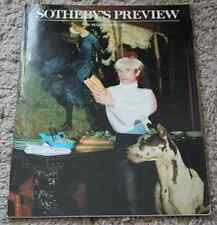 CATALOGUE VENTE Sotheby's Preview 1988 Andy Warhol Collection Kevin Tierney ..