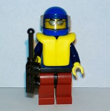 Lego - City - Town Rescue Surf Beach Lifeguard Coast Guard Man - Minifigure #2