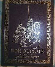 Cervantes  DON QUIXOTE Illustrated Gustave Doré Easton Leather OOP Llmited Ed