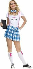 I Love Nerds Costume for Junior size 0-9 New by Fun World 122573