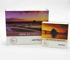 Lee Filters 100 DSLR Kit+Lee Canon TSE 17mm F4.0 Adapter Ring.Brand New