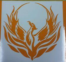 """Phoenix  5"""" in orange - vinyl car sticker, decals, graphic, Tribal"""