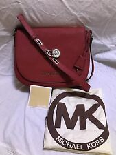 Michael Kors Hamilton Red Crossbody Bag
