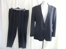 """Mens Suit - Harberry, 46""""R, charcoal, 45% wool, 40""""W, 28L, smart, work - 7527"""