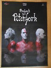 PROJEKT PITCHFORK 2015 TOUR  -  orig.Concert Poster  --  Konzert Plakat  NEU
