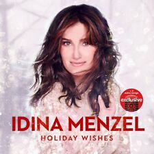 Idina Menzel - Holiday Wishes (Deluxe Edition) Target Exclusive Christmas CD NEW