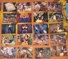 BLANCANIEVES CARDS RECORTITOS MANGA Y ANIME DISNEY skybox SNOWHITE